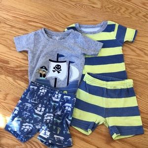 Carters matching sets boys